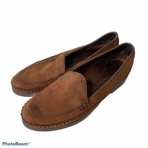 Dexter Moc Toe Loafer Shoes 8.5 Brown Leather